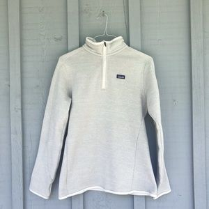 Patagonia Women's Better Sweater size L cream